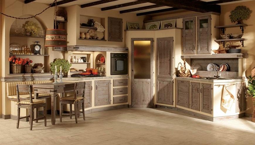 Cucine in muratura: pro e contro
